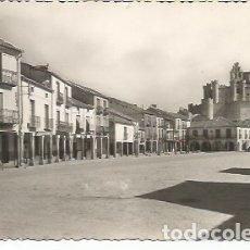 Postales: TURÉGANO - PLAZA DE ESPAÑA - Nº 7 ED. J. BORREGUERO. Lote 172782034