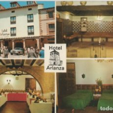 Postales: POSTALES POSTAL HOTEL ARLANZA COVARRUBIAS BURGOS . Lote 173629537