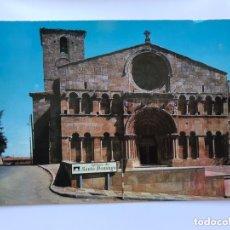 Postales: SORIA. POSTAL NO. 1, IGLESIA DE SANTO DOMINGO ROMÁNICA SIGLO XII, EDITA: ED. SICILIA (H.1960?). Lote 174029848