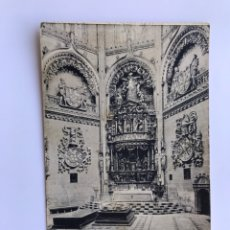 Postales: BURGOS. POSTAL NO.12, CATEDRAL. ALTAR MAYOR DE LA CAPILLA DEL CONDESTABLE. EDITA: FOTOTIPIA HAUSER... Lote 174038668