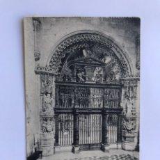 Postales: BURGOS. POSTAL NO..13, CATEDRAL. REJA DEL CONDESTABLE, POR CRISTÓBAL ANDINO. SIGLO XVI. Lote 174039974