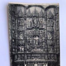 Postales: BURGOS. POSTAL NO..19, CATEDRAL. RETABLO DE LA CAPILLA DE SANTA ANA, POR SIMON DE COLONIA. SIGLO XV. Lote 174040339