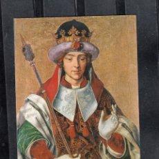 Postales: 4 - MUSEO PARROQUIAL DE PAREDES DE NAVA. EL REY SALOMÓN. Lote 174098299