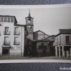 Postales: PONFERRADA LEÓN PLAZA DE LA CONSTITUCIÓN RARA POSTAL FOTOGRÁFICA ANTIGUA COLECCIÓN LOTY. Lote 174542537