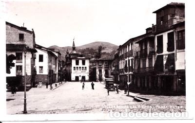 VILLAFRANCA DEL BIERZO (LEON) - PLAZA MAYOR (Postales - España - Castilla y León Moderna (desde 1940))