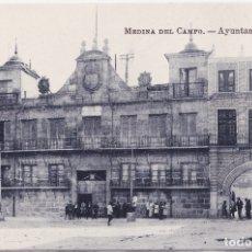 Postales: MEDINA DEL CAMPO (VALLADOLID) - AYUNTAMIENTO. Lote 175108989