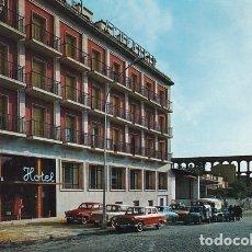 Cartes Postales: SEGOVIA HOTEL ACUEDUCTO FACHADA PRINCIPAL ED. GARRABELLA Nº 1 AÑO 1964. Lote 271558633