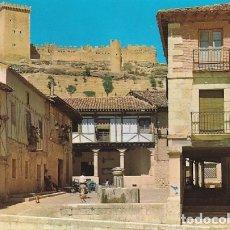 Postales: BURGOS PEÑARANDA DE DUERO FUENTE AYUNTAMIENTO CASTILLO ED. VISTABELLA Nº 5 AÑO 1978. Lote 175216219
