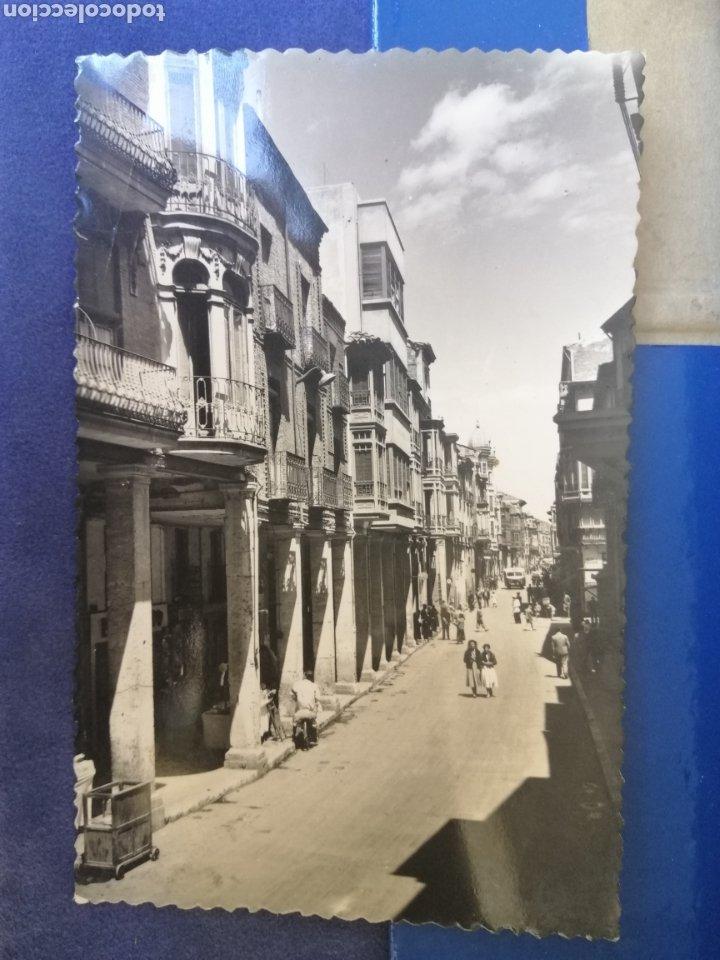 PALENCIA CALLE MAYOR AÑOS 40 POSTAL CIRCULADA (Postales - España - Castilla y León Moderna (desde 1940))
