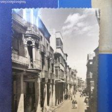 Postales: PALENCIA CALLE MAYOR AÑOS 40 POSTAL CIRCULADA. Lote 175311109