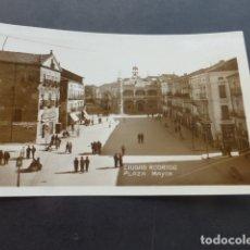 Postales: CIUDAD RODRIGO SALAMANCA PLAZA MAYOR. Lote 175535230