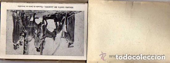 Postales: Album de la Semana Santa Zamora. 32 postales. 10 procesiones y cofradias jacinto Gonzalez. - Foto 2 - 175572240