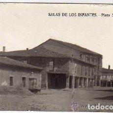 Postales: SALAS DE LOS INFANTES. PLAZA MAYOR. POSTAL FOTOGRÁFICA. SIN CIRCULAR. . Lote 175740897