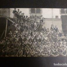 Cartoline: VALLADOLID GRUPO DE ALUMNOS DE UN COLEGIO POSTAL FOTOGRAFICA AÑOS 20. Lote 175955289