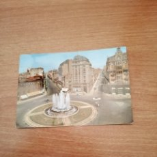 Postales: POSTL LON PL.DE STO. DOMINGO Y AVDA.DEL GRAL. SANJURJO Y PADRE ISLA CIRCULADA. Lote 176110407