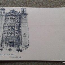Cartes Postales: FACHADA SAN PABLO - VALLADOLID - HAUSER Y MENET - REVERSO SIN DIVIDIR. Lote 176209799