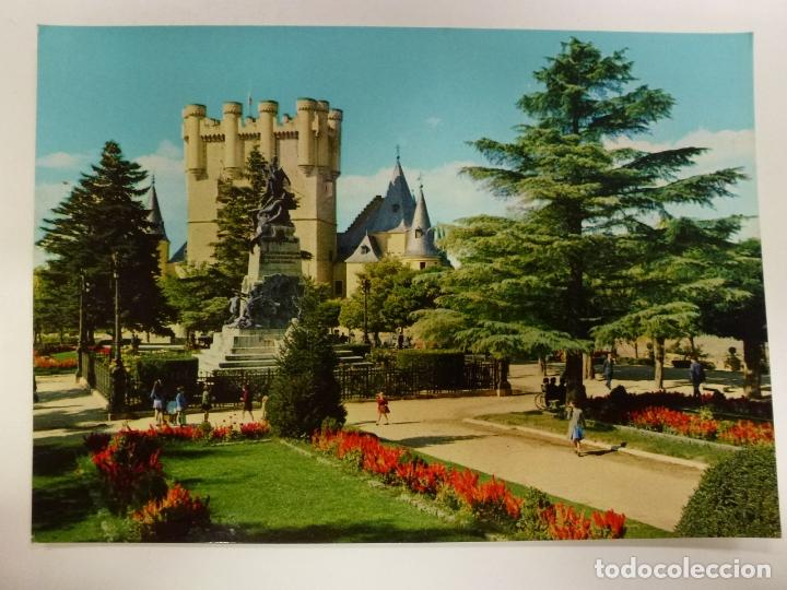 POSTAL. 14. SEGOVIA. PARQUE DEL ALCÁZAR. ED. ROYUELA. NO ESCRITA. (Postales - España - Castilla y León Moderna (desde 1940))