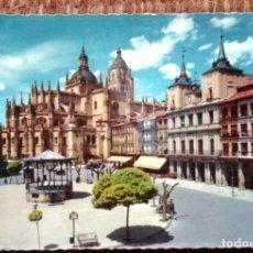 Postales: SEGOVIA - PLAZA GENERAL FRANCO. Lote 176333822