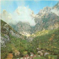 Postales: == PR46 - POSTAL - CAIN - PICOS DE EUROPA - VISTA GENERAL - Nº 75. Lote 176434030