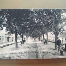 Postales: POSTAL BURGOS CALLE DE VALLADOLID Y EL ESPOLONCILLO. Lote 176441707