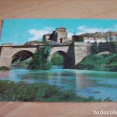 Postales: CARRION DE LOS CONDES ( PALENCIA ) RIO CARRION E IGLESIA NTRA SRA DE BELEN. Lote 176633044