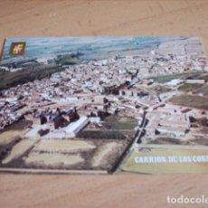 Postales: CARRION DE LOS CONDES ( PALENCIA ) PANORAMICA AEREA. Lote 176633760