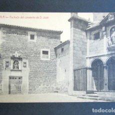 Postales: POSTAL ÁVILA. FACHADA DEL CONVENTO DE S. JOSÉ. EDICIÓN A. MEDRANO. . Lote 176820618