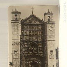 Postales: VALLADOLID CONVENTO DE SAN PABLO 105 FACHADA POSTAL REDONDEADA GARCIA GARRABELLA. Lote 176874145