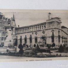 Postales: POSTAL DE LEÓN, PALACIO DE LOS GUZMANES. Nº 28. Lote 176926003
