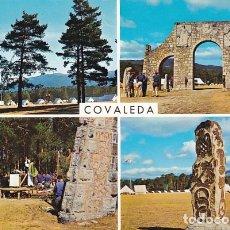 Postales: SORIA COVALEDA CAMPAMENTO NACONAL FRENTE DE JUVENTUDES ED. GARRABELLA Nº 1 AÑO 1965. Lote 177140890