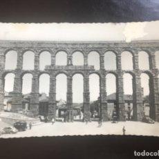 Postales: SEGOVIA FOTOGRAFICA ACUEDUCTO POSTAL 31 DOMINGUEZ COCHES DE EPOCA ANTIGUA POSTAL ACUEDUCTO SEGOVIA . Lote 177216362