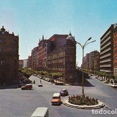 Postales: VALLADOLID PLAZA DE MADRID CALLE GAMAZO Y MURO ED. SUBIRATS Nº 66 AÑO 1966. Lote 177557939