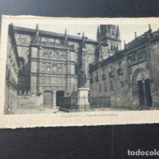 Postales: SALAMANCA PLAZA DE LA UNIVERSIDAD. Lote 177754287