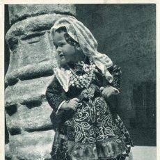 Postales: SALAMANCA-NIÑA CON TRAJE DE CHARRA- FOURNIER. Lote 177784238