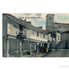 Postales: LERMA.(BURGOS).- CALLE DEL REVENTÓN.. Lote 177961299