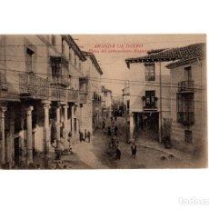 Postales: ARANDA DE DUERO.(BURGOS).- PLAZA DEL COMANDANTE REQUEJO.. Lote 177961378