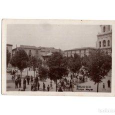 Postales: BRIVIESCA.(BURGOS).- PLAZA MAYOR. POSTAL FOTOGRÁFICA.. Lote 177980943