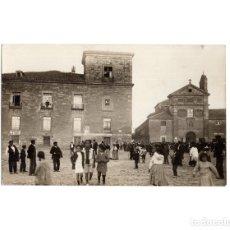 Postales: LERMA.(BURGOS).- IGLESIA. POSTAL FOTOGRÁFICA.. Lote 189898656