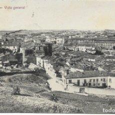 Postales: SORIA, VISTA GENERAL - EDICIÓN LAS HERAS HNOS. - ESCRITA 1921. Lote 178219928