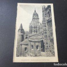 Postales: SALAMANCA ABSIDE Y TORRE DE LA CATEDRAL VIEJA. Lote 178366971