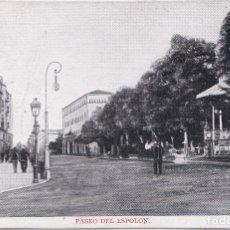 Postales: BURGOS - PASEO DEL ESPOLON. Lote 178384192