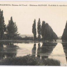 Postales: POSTAL PALENCIA DÁRSENA DEL CANAL EDICIONES ALONSO . Lote 179172166