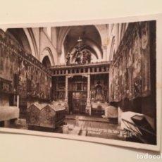 Postales: POSTAL PHOTO CLUB BURGOS , MONASTERIO DE LAS HUELGAS . Lote 179201272