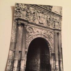 Postales: POSTAL BURGOS CASA DEL DUQUE DE MIRANDA. Lote 179201885