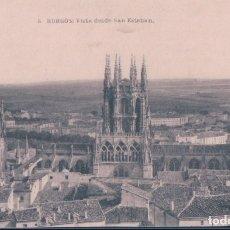 Postales: POSTAL BURGOS - VISTA DESDE SAN ESTEBAN - FOTOTIPIA DE HAUSER Y MENET 5. Lote 179201926