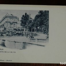 Postais: POSTAL DE LA GRANJA, SEGOVIA, FUENTE DE LA SELVA, ED. HAUSER Y MENET N. 330, NO CIRCULADA, ESCRITA, . Lote 179225595