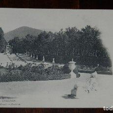 Postais: POSTAL DE LA GRANJA, SEGOVIA, LA CASCADA, ED. HAUSER Y MENET N. 793, NO CIRCULADA, ESCRITA, REVERSO . Lote 179225702