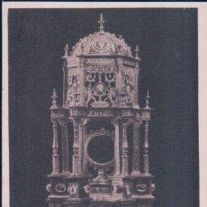 Postales: POSTAL BURGOS - SANTO DOMINGO DE SILOS - CUSTODIA PLATERESCA - SIGLO XVI - HAUSER Y MENET. Lote 179387328