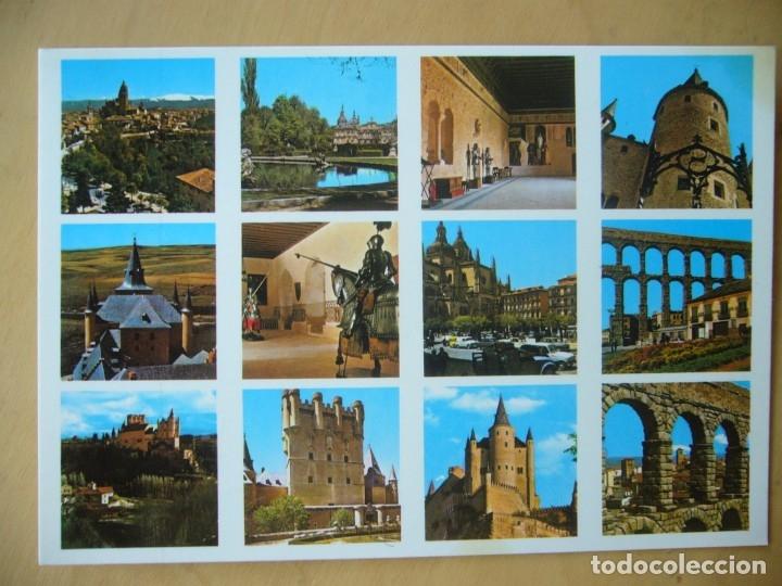 SEGOVIA - VARIOS ASPECTOS (Postales - España - Castilla y León Moderna (desde 1940))