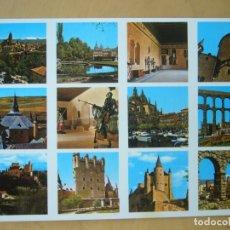 Postales: SEGOVIA - VARIOS ASPECTOS. Lote 179956156